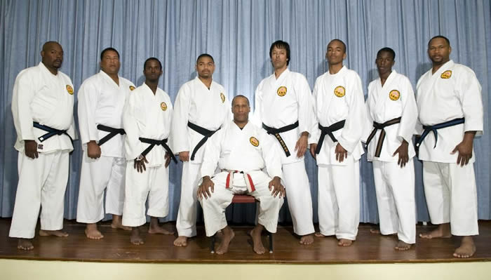 Kyoshi Tucker and Black Belts